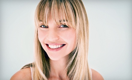 Women's Haircut and Style with Optional Partial Highlights or Full Color at Blondies Salon/Body (Up to 55% Off)