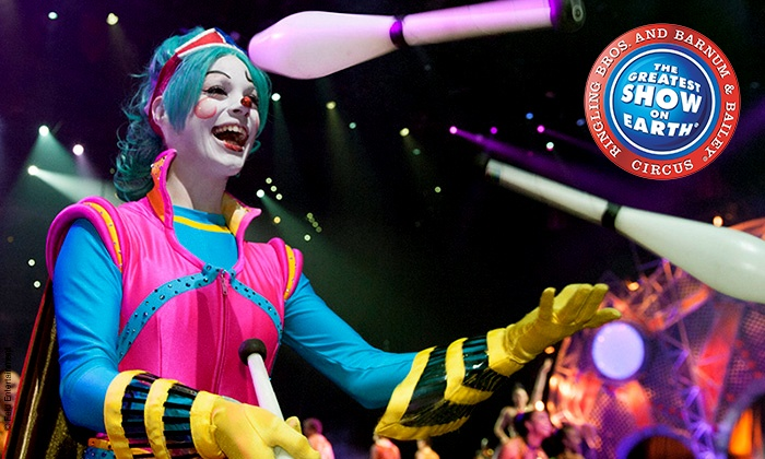 "Ringling Bros. and Barnum & Bailey: Circus Xtreme - Dunkin' Donuts Center: Ringling Bros. and Barnum & Bailey: ""Circus Xtreme"" on May 1 and 3 (Up to 33% Off)"