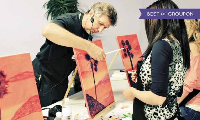 PaintNVineyard - Scripps Ranch: Two-Hour Painting Class for One or Two at PaintNVineyard (43% Off)