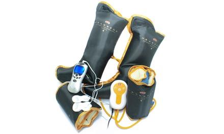 Luxe pressotherapie apparaat met 9 verschillende modi