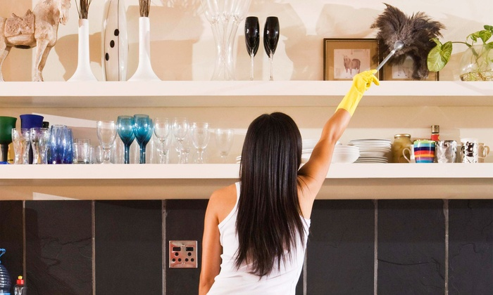 Blessed2Help Enterprises - Fort Worth: Cleaning for 3 Bedrooms, 4 Hours of Home or Garage Organizing, or Holiday-Lights Setup from Blessed2Help (Up to 57% Off)