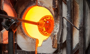 Seattle Glassblowing Studio & Gallery: Glass-Blowing Workshops at Seattle Glassblowing Studio & Gallery (Up to 43% Off). Three Options Available.