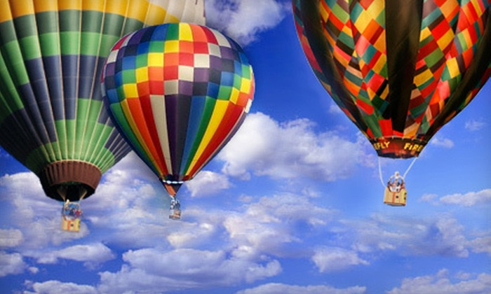 Sportations - Ivywild: $165 for a One-Hour Hot Air Balloon Ride with Champagne Toast from Sportations ($289.99 Value)