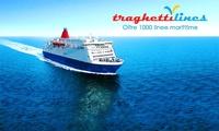Traghettilines - Buono sconto sull'acquisto di tratte in traghetto per tutte le destinazioni del Mediterraneo da 4 €