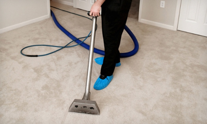 Sani-Tech Ltd. - Victoria: Carpet Cleaning for Two Rooms or Queen-Size Mattress Cleaning from Sani-Tech Ltd. (Up to 52% Off)