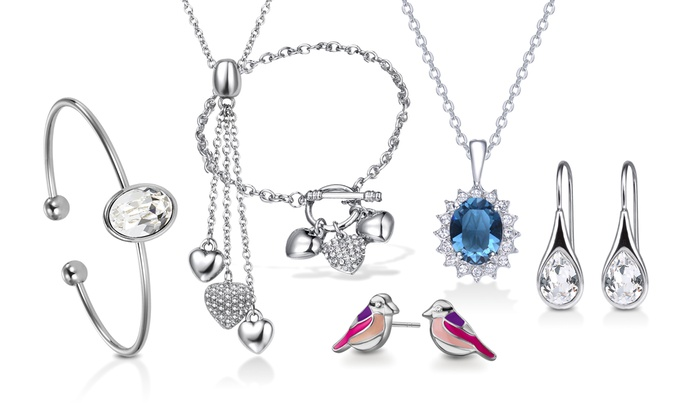 0da44b7d0 Mestige Crystal Jewellery | Groupon Goods