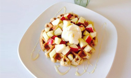 $10 for Two Vouchers, Each Valid for $10 Worth of Cafe Food and Froyo at Twist & Grind Cafe ($20 Value)