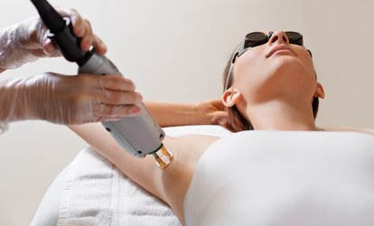 One Year of Unlimited <strong>Laser Hair-Removal</strong> Treatments for One, Two, or Three Areas at NYAH Med Spa (Up to 93% Off)