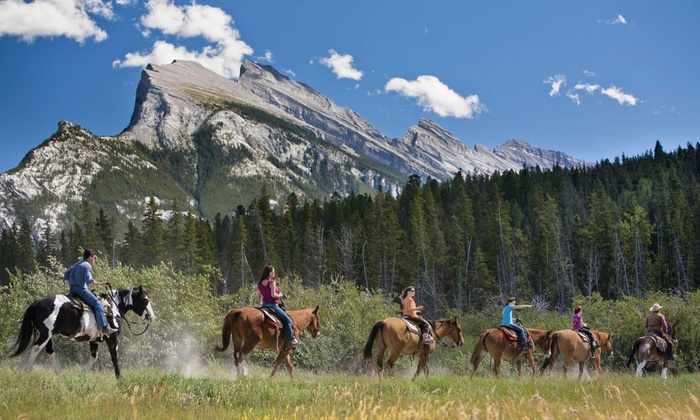 Banff Trail Riders - Banff: One- or Two-Hour Horseback Trips from Banff Trail Riders (Up to 41% Off)