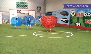 Indoor Soccer Center: One or Two Hours of Bubble Soccer and Facility Rental for Up to 10 at Indoor Soccer Center (Up to 67% Off)