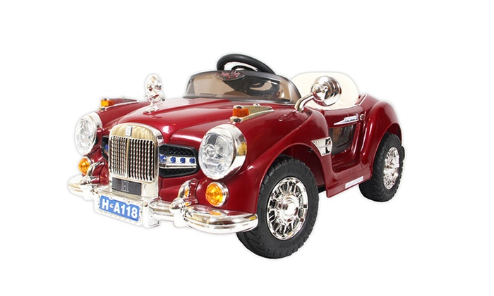 Kids Ride On Classic Luxury Cars Groupon