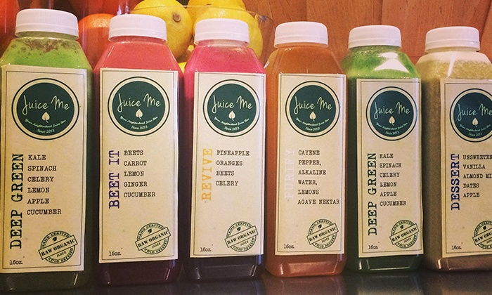 Juice Me Cafe - Upland: A Juice Cleanse or Juice, Smoothies, and Protein Shakes at Juice Me Cafe (Up to 42% Off). Two Options Available.