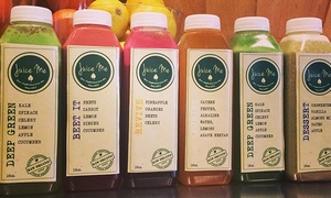 Juice Me Cafe: A Juice Cleanse or Juice, Smoothies, and Protein Shakes at Juice Me Cafe (Up to 42% Off). Two Options Available.