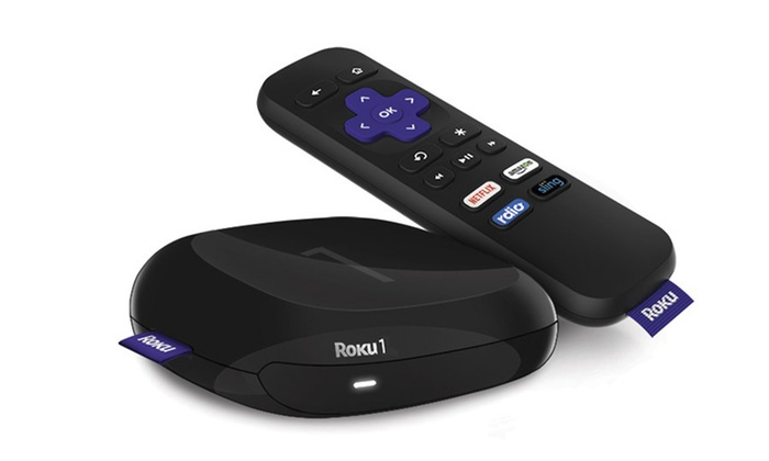Roku 1 Media Streaming Device (Manufacturer Refurbished)