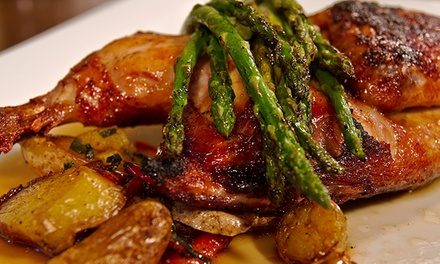 Dinner for Two or Four, or Lunch for Two at The Jacobson (Up to 46% Off)