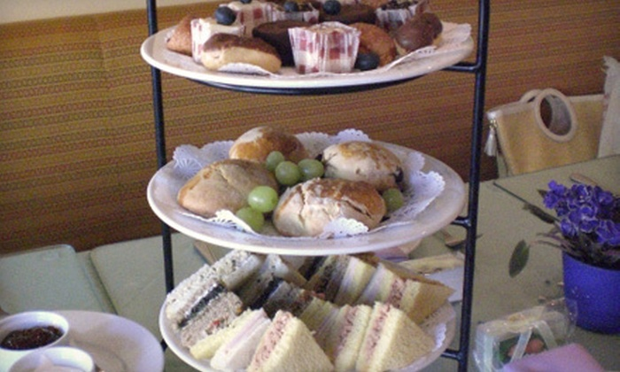 Silver Tips Tea Room - Tarrytown: $7 for $14 Worth of Café Fare and Tea at Silver Tips Tea Room in Tarrytown