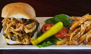 Zack's American Bistro: American Cuisine at Zack's American Bistro (Up to 43% Off). Two Options Available.