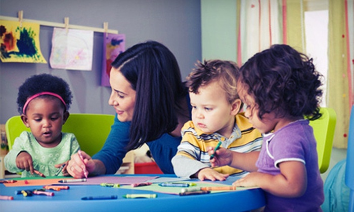 Bright Beginnings Preschool - Folsom: Three Parent/Toddler Classes or One Month of Unlimited Parent/Toddler Classes at Bright Beginnings Preschool