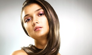 Kimberly Apker at Studio Hair Design: Haircut and Highlights from Kimberly Apker at Studio Hair Design (Up to 52% Off). Four Options Available.