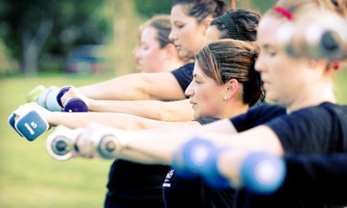 Total Training Boot Camp - Multiple Locations: Two Weeks or One Month of Unlimited Boot-Camp Classes at Total Training Boot Camp (Up to 84% Off)