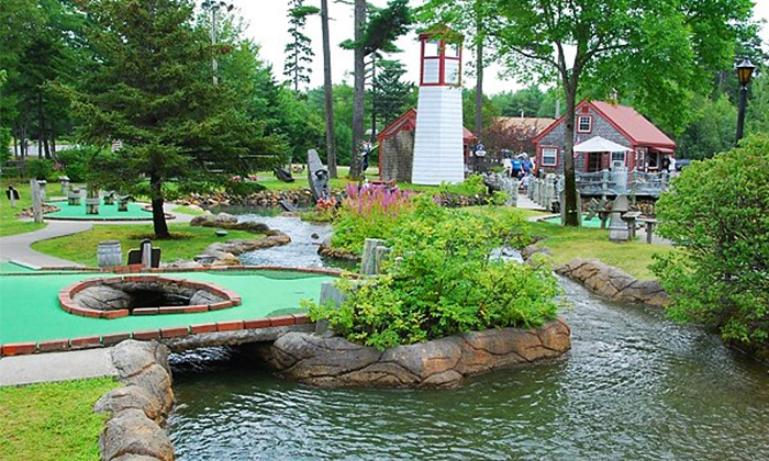 Pirates Cove Miniature Golf - Suwanee-Duluth: 27 Holes of Mini Golf for Two or Four at Pirate's Cove Adventure Golf in Duluth (Up to 47% Off)