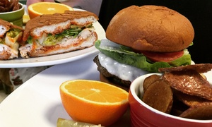 The Garden Bistro: American Food for Dine-In or Takeout at The Garden Bistro (Up to 40% Off)