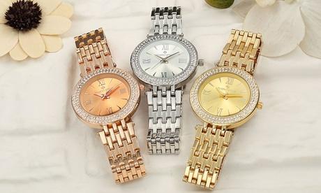 1 o 2 relojes Timothy Stone con cristales de Swarovski® (envío gratuito)
