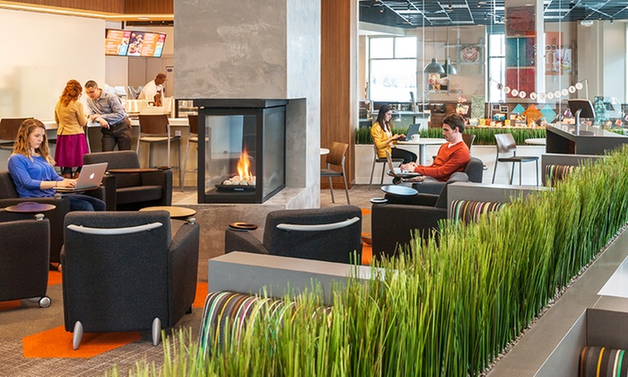 Cafe Inc - Edina: One- or Three-Month Base Membership at Cafe Inc (Up to 64% Off)