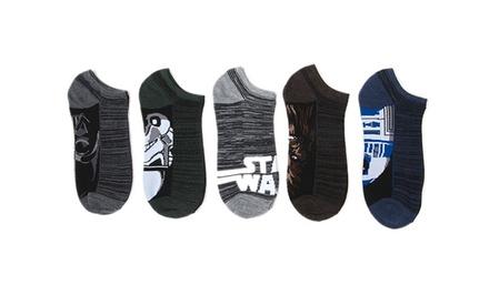 Star Wars Men's No-Show Socks (10 Pairs)