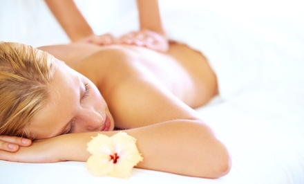 One or Two 60-Minute Therapeutic Massages or One Massage with Scrub at Details Salon and Spa (Up to 51% Off)