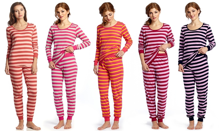 0fdaa117f1 Leveret Women s Fitted Pajama Set (Size XS)