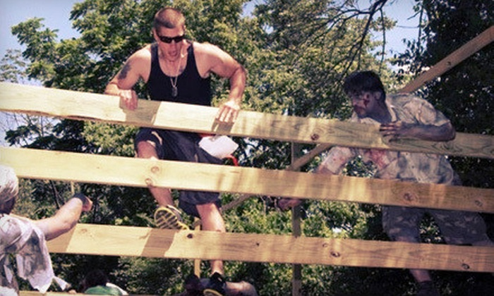 The Zombie Mud Run - East Windsor: Zombie Entry for One or Human Entry for Two to The Zombie Mud Run on November 10 (Up to 70% Off)