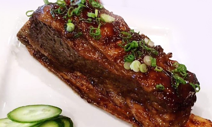 Niu-Gu Noodle House - Spring Valley: Lamb-Chop or Short-Ribs Dinner for Two at Niu-Gu Noodle House (40% Off)