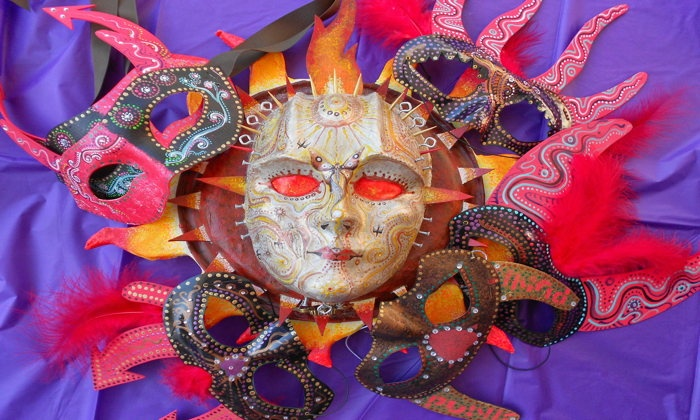 Diego Marcial Rios - The Ashkenaz: Papier-Mâché a Day of the Dead Mask (40% Off)