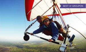 Cowboy Up Hang Gliding: $199 for a 3K Discovery Flight from Cowboy Up Hang Gliding ($289 Value)
