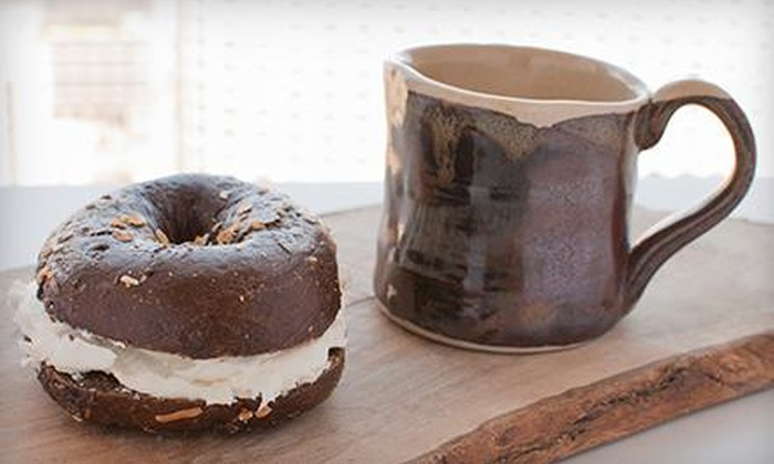 Bagel Oasis - Utopia: $1 Buys You a Coupon for 1 Dozen Bagels & 8oz. Cream Cheese For $10.75 at Bagel Oasis