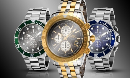 Invicta Men's Aviator Chronograph Watches from $129.99–$139.99