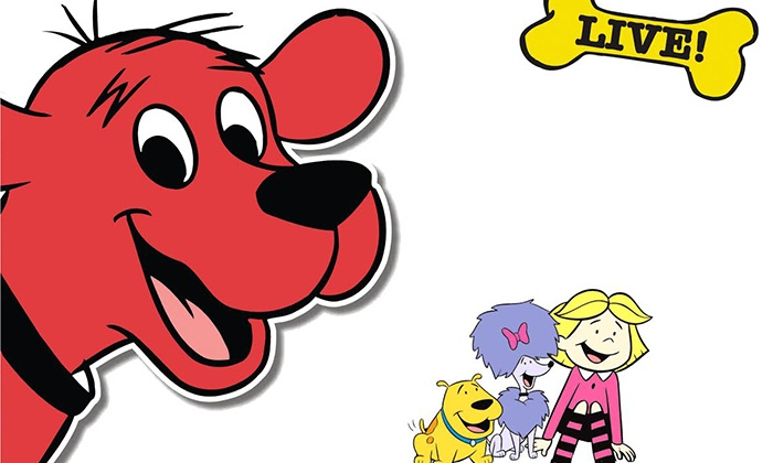 """Clifford The Big Red Dog Live!"" - The Mahaffey Theater: ""Clifford the Big Red Dog Live!"" on November 22 at 3 p.m."