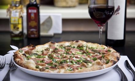 Menú italiano para 2 o 4 con entrante, principal, postre y bebida o botella de vino desde 19,90 € Il Piccolo Di Gracia