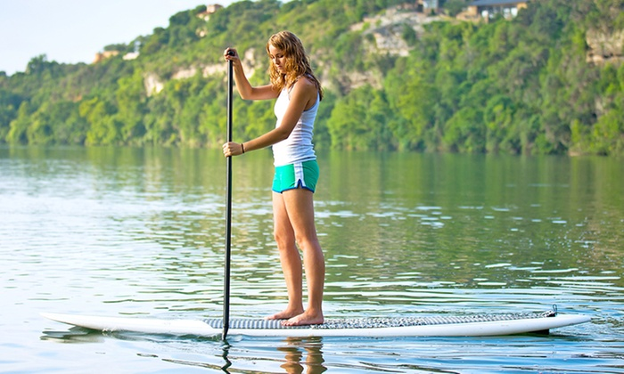 Boat Oneida - Boat Oneida: One-Hour or Three-Hour Standup-Paddleboard Rental at Boat Oneida (Up to 49% Off)