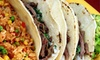 Tacos Andreas 3 - Waterbury: Mexican Food and Drinks for Two, Four, or More at Tacos Andreas (Up to 52% Off)
