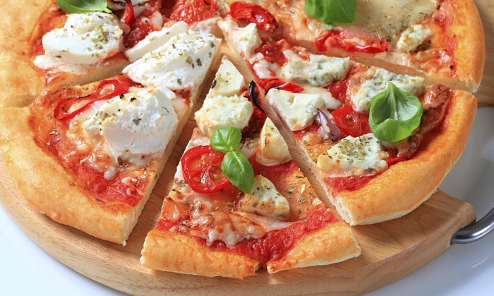 Pizza Pan - Kamm's Corners: Pizza at Pizza Pan (Up to 41% Off). Three Options Available.