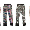 Kids' Colorful Printed Joggers (4-Pack)