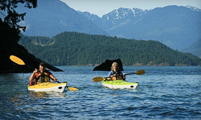Harrison Eco Tours - Harrison Hot Springs: Two-Hour Guided Kayak Tour for One, Two, or Four, or Private Tour for Eight from Harrison Eco Tours (Up to 63% Off)