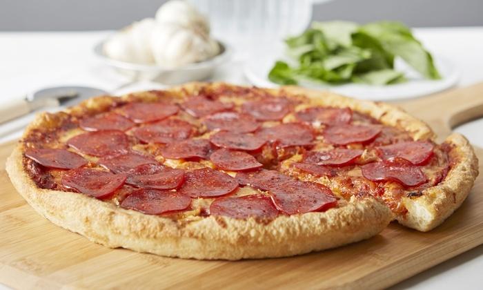 Ocean Pizza & Halal Fried Chicken - Ocean Pizza & Halal Fried Chicken: Halal Comfort Food at Ocean Pizza & Halal Fried Chicken (Up to 50% Off). Two Options Available.