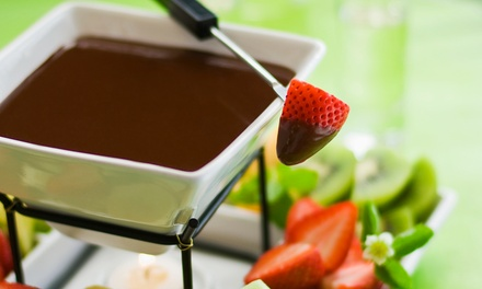 Fondue Prix-Fixe Meal for Two, Three, or Four at Lugano Swiss Bistro (Up to 39% Off)