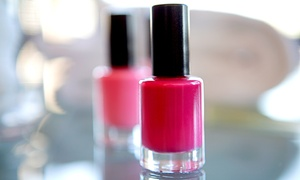 Hair Daze Salon: Spa Mani-Pedi or Shellac Manicure at Hair Daze Salon (Up to 52% Off)