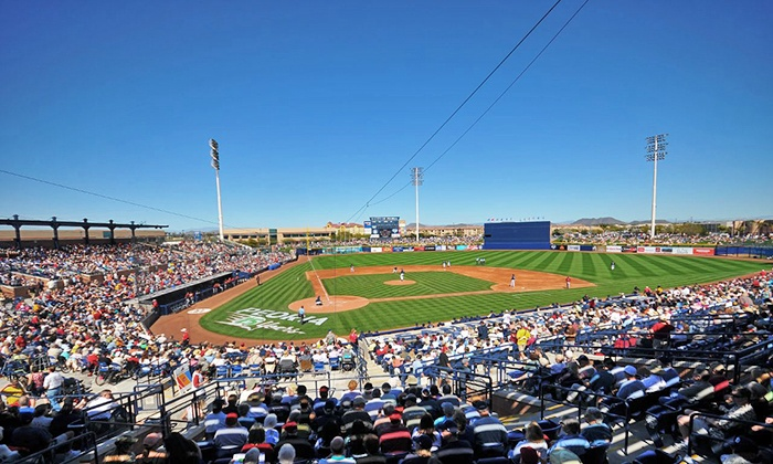 San Diego Padres vs. Seattle Mariners - Peoria: San Diego Padres and Seattle Mariners Spring-Training Game at Peoria Sports Complex on Thursday, February 27 (Half Off)