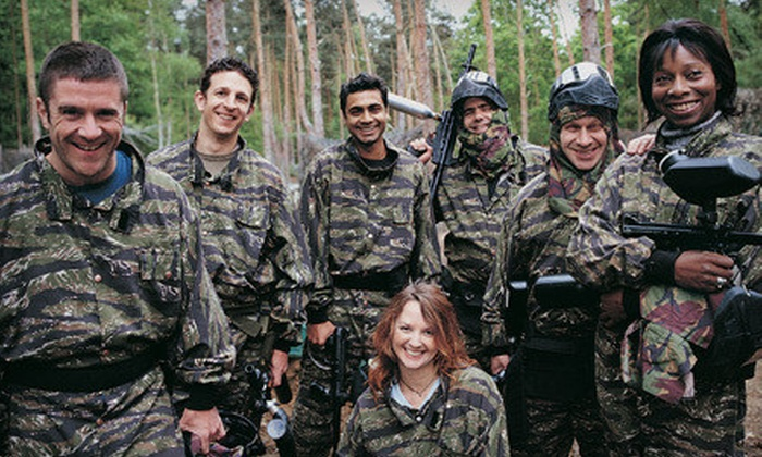 All-Inclusive Paintball Excursion - Townline Hill: All-Inclusive Paintball Excursion. Transportation, Pizza, and Beer Included.