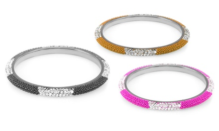 20.00 CTTW Crystal Eternity Bangle